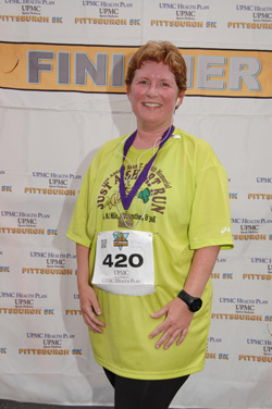 After rocking the Pittsburgh 5K