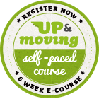 up & moving - 6 week e-course