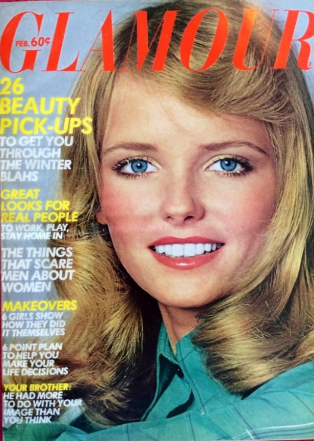 Glamour magazine from the 1970s