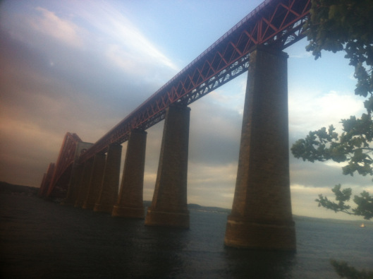 The beautiful Forth Rail Bridge