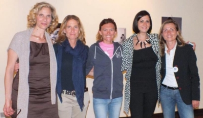 Left to right: Julia, Luisa Balsamo, Valeria Straneo, Maria Comotti, Ivana Di Martino