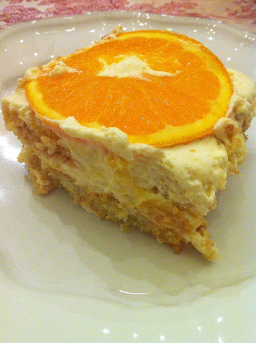 Orange tiramisu... oh how I dream of you