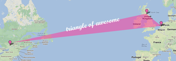 The triangle of awesome