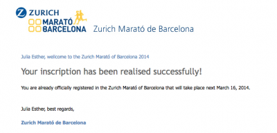 Translator desperately needed for Barcelona Marathon!