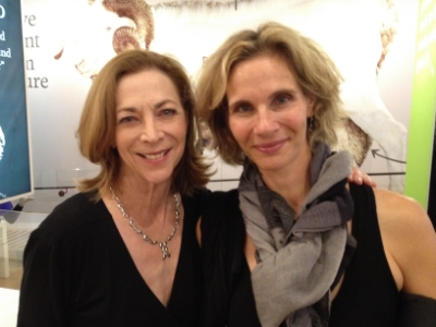 With my friend Kathrine Switzer at a sponsor party in 2011