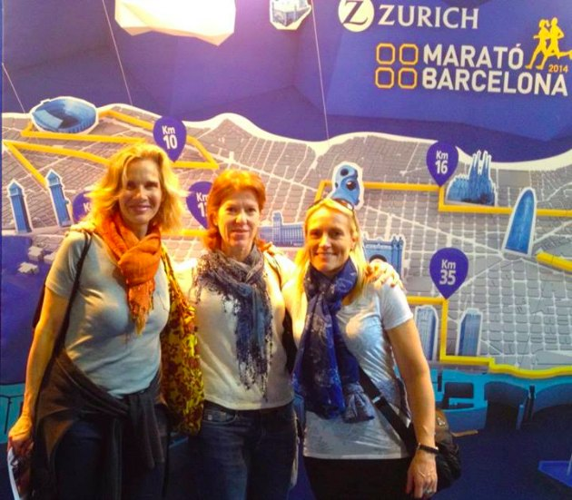 Julia, Paula P and Paula G at the Expo