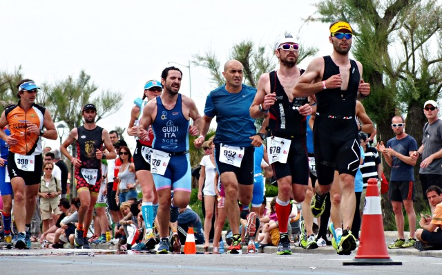 Runners at Challenge Rimini, 2014