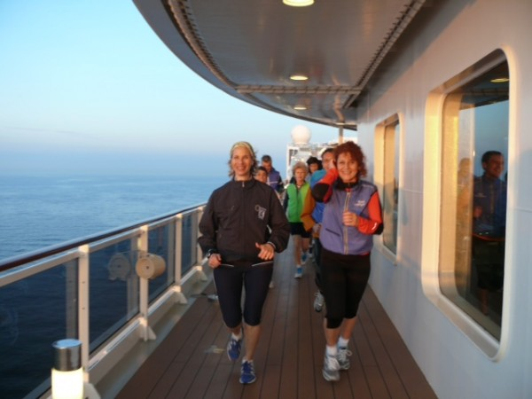 You can even run on a cruise ship while on vacation...