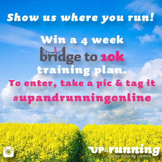 Show us where you run - Instagram giveaway!
