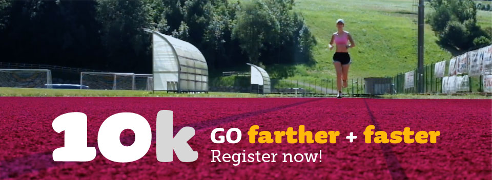 Register now for our 10K Course
